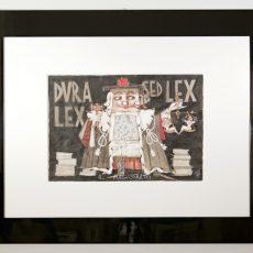 Tecnica mista e collage di Paolo Fresu, pezzo unico