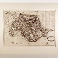 Pianta di Mantova del 1704 P. Mortier