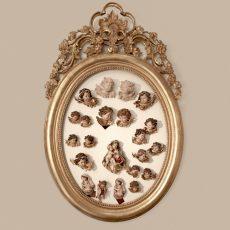 Angioletti e Madonne in legno in varie finiture