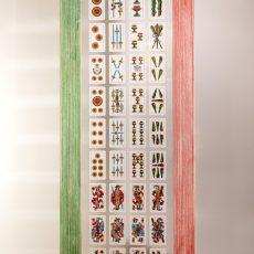 """Cornice """"bandiera"""" in legno laccata a mano"""
