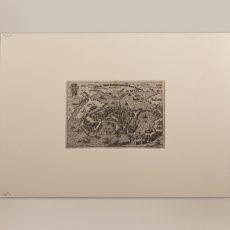 Pianta di Mantova del 1654