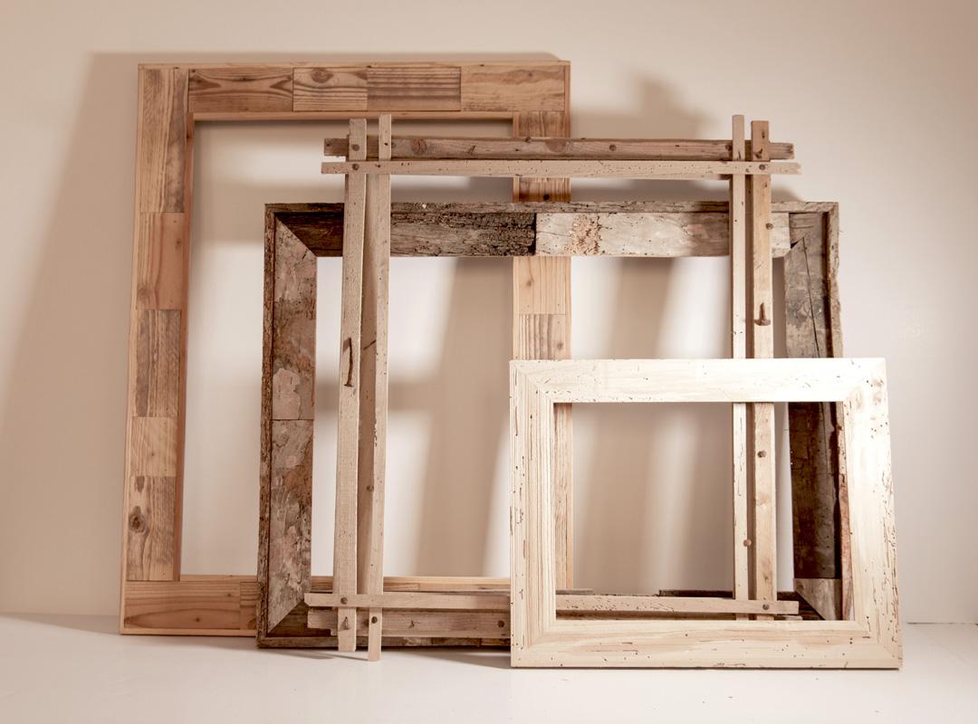 Cornici in legno vecchio