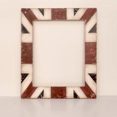 """Cornice """"England"""" in legno laccato e anticato a mano"""